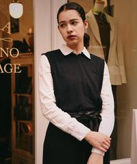 JIL SANDER / vintage knit vest.