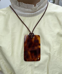 CELINE/ vintage tag necklace.515012 A (U)