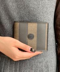 FENDI /vintage pecan design wallet.