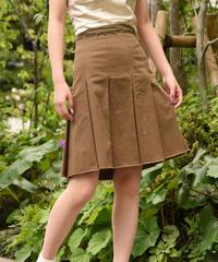 PRADA / vintage tuck skirt.
