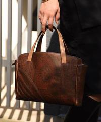 ETRO / vintage paisleydesign handbag.(U)