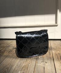 Longchamp/enamel shoulder bag.415023 C