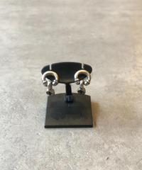 GIVENCHY/vintage design silver pierce.(U)