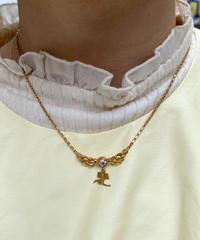 courreges/ vintage wing design  necklace.515013 A