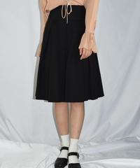 agnes.b/ vintage pleats middle skirt.
