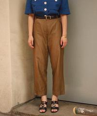 MAXMARA/ cotton silk slacks.  421006H