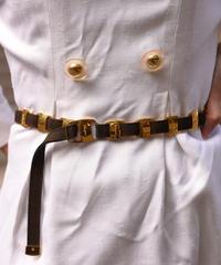 Salvatore Ferragamo/ vintage vara  design belt.
