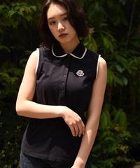 MONCLER / logo  sleeveless polo shirts.
