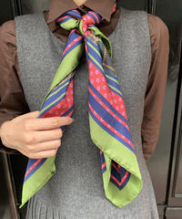 Max Mara / vintage  check design scarf.