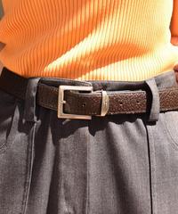 Givenchy / vintage simple design leather belt.