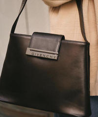 GIVENCHY/ vintage logo hand bag. 422002A