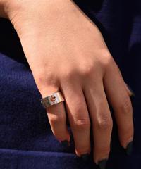 GUCCI/vintage logo wide ring.