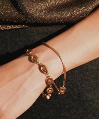 GIVENCHY/ vintage gold design  bracelet