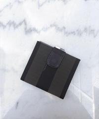 FENDI / pvc pecan square wallet.414003 H
