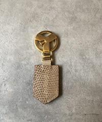 Yves Saint Laurent/vintage logo key  ring.
