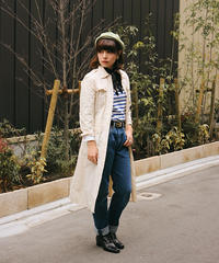 MAX MARA/ vintage white long blouse.