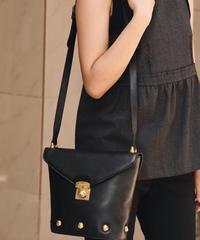 Salvatore Ferragamo / vintage gantini shoulder bag.