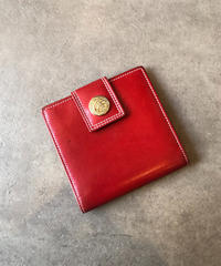 CELINE /vintage leather mini wallet.(S)