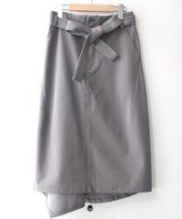 【20SS】後ろフレアスカート