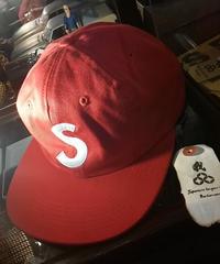 Supreme S Logo 6-Panel Cap RED未使用品