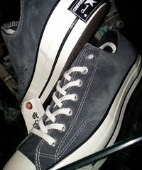 U.S.PRODUCT Chuck Taylor70,s SUEDE LOW SLATE BLACK BOX付極上未使用品