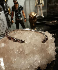 Chrome Hearts CROSS BAND  BANGLE メンズMサイズ極上美品