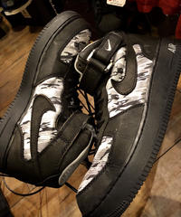 NIKE AIRFORCE1 MID Camouflage美品