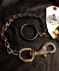 1940,s vintage U.S.A. IRON Keychain ハイグレードヴィンテージアイアンリング仕様 Vol.1