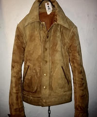70,s U.S.A. Rock'n Roll LOUGHOUT LEATHER JACKETヴィンテージ美品