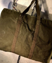 1940,s U.S.ARMY ラウンドジッパーHOSPITAL BAGステンシル入りヴィンテージ美品