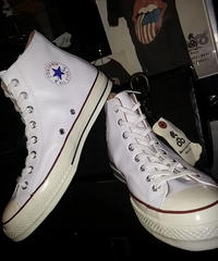 U.S.PRODUCT Chuck Taylor70,s LEATHER WHITE HI極上美品