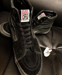 VANS オールドレアモデル U.S. PRODUCTS SK-8 HI BLACK × BLACK × BLACK
