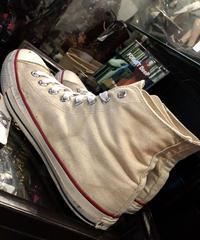 ★Bコンディションヴィンテージスペシャルプライスシリーズ② vintage U.S.A. 90.s ALL STAR  NATURAL Hi US9