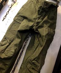 〈目玉〉追加入荷!米軍リアルヴィンテージ3rd model 希少ノンリップJungle Fatigue PANTS SMALL REGULAR美品