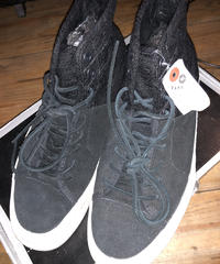 VANS 海外企画SK-8 VAULT BLACK SHADOW suede Leather 2トーン BOX付USED美品スペシャルプライス