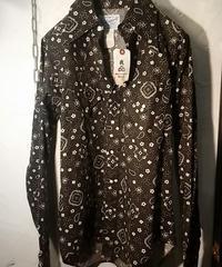 90,s U.S.A. ROCKMOUNT Western Shirt 美品
