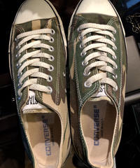 90,s vintage  U.S.A. ALL  STAR Camouflage CANVAS Low極上美品