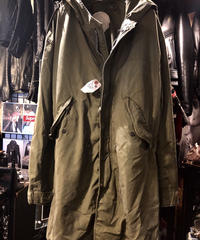 60,s U.S.A. CROWNアルミジッパー M-51 MODS PARKA 希少Small 目玉ヴィンテージ