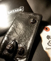 Chrome Hearts 1stモデルLEATHER Keycase 正規代理店ユナイテッドアローズ京都ギャランティー