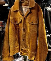 70,s CANADA製 スウェードレザージャケット ヴィンテージ美品