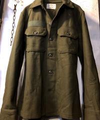 ミリタリーROCK縦長美フォルム 1977年製 U.S.Military WOOL SHIRTデッドストック極上美品ヴィンテージスペシャルプライス
