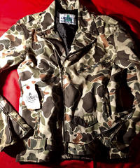 MADE IN U.S.A. 80-90,s LIBERTY CAMOUFLAGE RIDERS JACKET レッドデータヴィンテージ美品