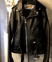 目玉オールドモデル希少32サイズ 90,s U.S.A. Schott 618US PERFECTOバイクタグ極上美品