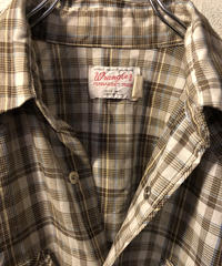 70,s U.S.A.製 Wrangler Long Tail Shirt
