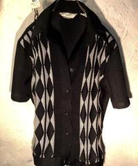 60,s U.S.A.製リアルヴィンテージ Psychobilly Shirt 美品