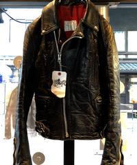 《超目玉》70,s初期 Lewis Leathers LIGHTNING 1st model  激レア希少UKヴィンテージシープレザーライダースジャケット.