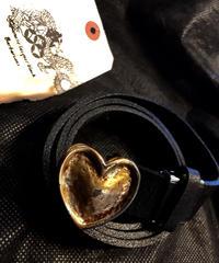 オールドモデル90,s HEART BUCKLE BELT極上美品スペシャルプライス
