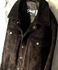 Schott U.S.A.製 スウェードレザ ージャケット廃版モデル美品