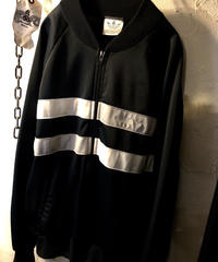 80,s MADE IN U.S.A. adidas TRUCK JACKET BLACKヴィンテージ極上美品