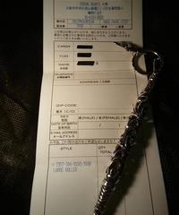 Chrome Hearts 目玉Large ROLLER Keyring 大阪心斎橋直営店2013ギャランティー